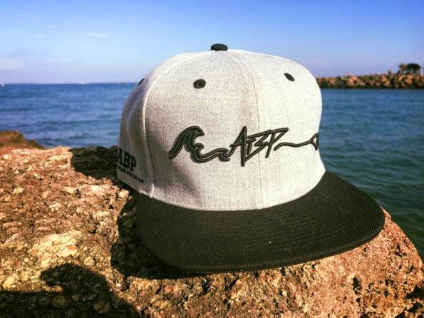 ABP casquette snapback grise logo signature