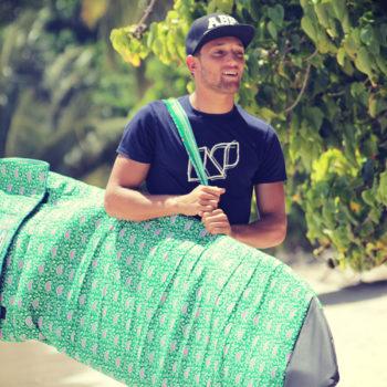 Housse de surf tissu ethnique ABP 2017