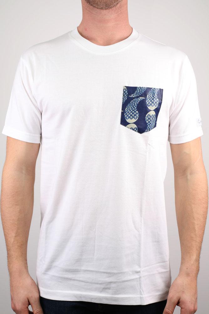 T-shirt poche motifs ethniques ABP 2018 -