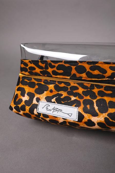 Trousse de toilette léopard